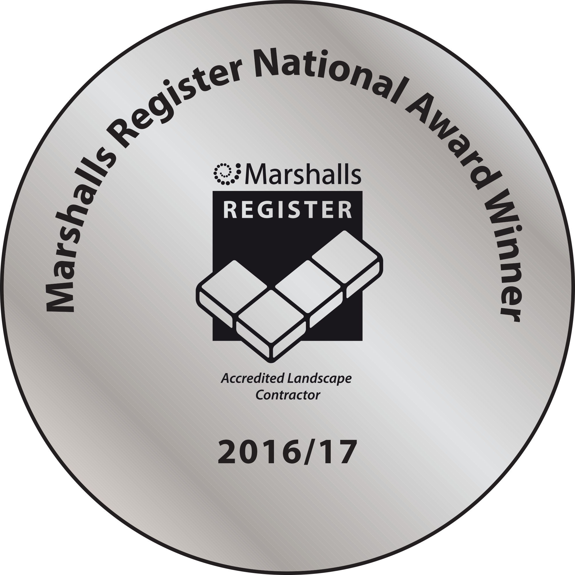 Award Medal - National Award Winner 2016-17
